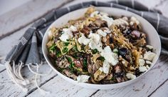 Fettuccine with Mushroom and Creamy Goats Curd Sauce | Good Chef Bad Chef