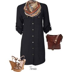 casual chic, created on Polyvore