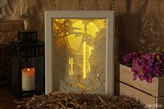 Lightbox Waterfall by DecordiaRu on Etsy