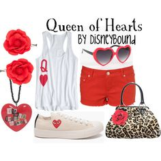 Queen of Hearts, created by lalakay on Polyvore