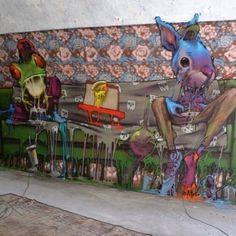 See amazing street art, graffiti art, wall murals & great urban art from…