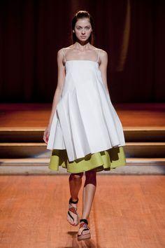 Robert Musso at Milan Fashion Week Spring 2014 - StyleBistro