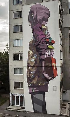 Artists: Etam Cru in Sofia, Bulgaria This is Art, not Mine nor yours, but It deserves to be seen...by everyone...Share it...