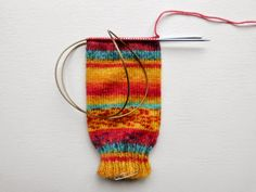 Beginner sock knitting: Sockalong - Week 1 - Cast on, cuff and leg Beginner sock knitting - Winwick Mum Sockalong - leg section with magic loop. Knitted Socks Free Pattern, Loom Knitting Patterns, Crochet Slippers, Knitting Socks, Knitting Designs, Knitting Stitches, Free Knitting, Knitting Projects, Knit Socks