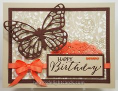 Heart's Delight Cards: Butterfly Basics Birthday