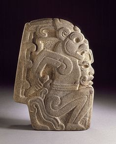 Hacha in the Form of a Jaguar ~ Mexico, Veracruz, Totonac ~ 700-900 A.D. ~ LACMA ~ Hachas, probably were used in ballgame ceremonies, though how is unclear.