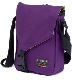 Small Cafe Bag >>> The perfect everyday bag for your ipad and other travel essentials. Loving this purple color too!