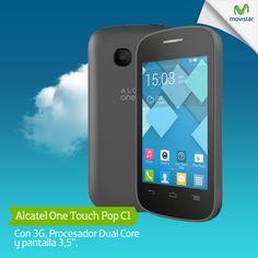 ¡Buenas noticias amigos en Chile! Nuestro ALCATEL ONETOUCH POP C1, ya llegó al país. ¡¡Su diseño compacto está listo para tener tus Apps favoritas en la palma de la mano!!.