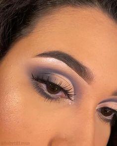 Eye Makeup Steps, Eye Makeup Art, Natural Eye Makeup, Smokey Eye Makeup, Makeup For Brown Eyes, Eyeshadow Makeup, Brown Makeup Looks, Cut Crease Eyeshadow, Grey Eyeshadow