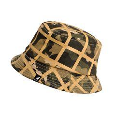 Camo Check Bucket Camo Hats, Mens Caps, Camo Print, Hat Making, Bucket Hat, Beanie, Knitting, Check, Color