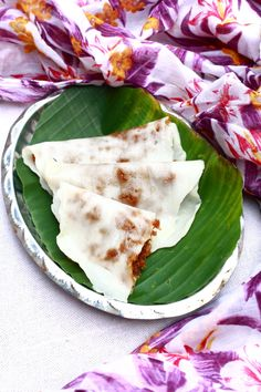 ela ada - a tasty sweet recipe with coconut jaggery filling Indian Desserts, Sweet Desserts, Indian Food Recipes, Sweet Recipes, Ethnic Recipes, Kerala Recipes, Filipino Desserts, Ada Recipe, Coconut Recipes