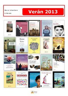 Novelas e libros de materia novos na Biblioteca Os Rosales, para disfrutar este verán 2013