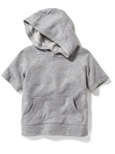 Raglan-Sleeve Pull-Over Hoodie for Baby