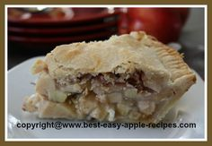 Apple Raisin Cream Pie - DELICIOUS!!!