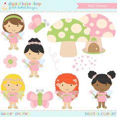 fairy clipart fairies digital clip art Fairy by PaperiePixel
