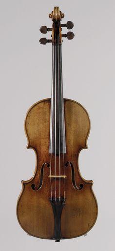 Antonio Stradivari made the Antonius Violin in Cremona, Italy in 1711