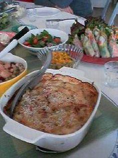 potato anchivu gratin あっころのポテトアンチョビグラタン (potato, anchovy, cream, panko)
