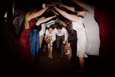 #bride #Groom #Nestldown #reception #send #Unique #wedding
