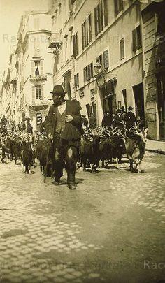 Via Sistina .Capraro 1890