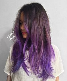 Shades of purple #regram @mizzchoi #americansalon