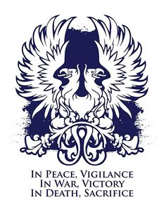 Grey Warden Insignia by DCornel. I want this between my shoulder blades!