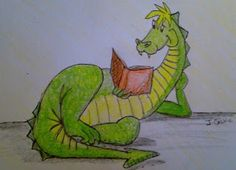 Dragon Reading Book   The Castle Library...: February 2012