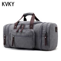 0558e131513d Brand Men s Large Capacity Handbag Luggage Travel Duffle Canvas Weekend  Multifunctional Business Bags  Affiliate Canvas