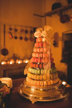 My wedding tower for a recent customer (www.lovemacarons.co.uk).  photo:KristianLevenPhotography