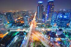 Seoul, S. Korea...night lights