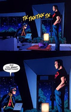 Tim and Conner...one of my favorite DC Comics friendships