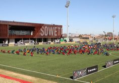 Football Training Centre Soweto by RUFproject Box Park, Nike Football, Training Center, Centre, Branding Design, Dezeen, Worcester, Hockey, Museum