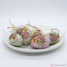 Διακοσμητικά αφρολέξ αυγά 6cm Garlic, Eggs, Vegetables, Food, Essen, Egg, Vegetable Recipes, Meals, Yemek