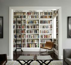 This is awesome. Maybe sliding barn doors for a more secluded reading nook/office