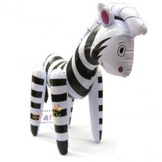 Inflatable Zebra - Discount Party Supplies
