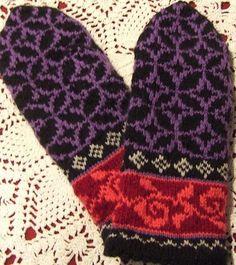 Tiffany Mittens..free pattern