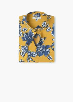 new arrivals f8b1e 2d017 Camisa regular-fit estampado floral - Camisas de Hombre   OUTLET España