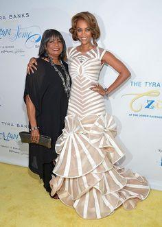DeJa Vu fb pg Tyra banks and Mom Carolyn