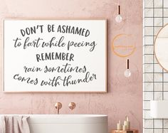 Bathroom Quote SVG Home Cut Files for Cricut Silhouette Funny Fart svg Bathroom Wall Decor Toilet Art Print Restroom Sign Poster - Home Design Bathroom Humor, Bathroom Wall Decor, Bathroom Ideas, Funny Bathroom Quotes, Bathroom Inspiration, Bathroom Wall Sayings, Decorating A Bathroom, Toilet Quotes, Bathroom Posters
