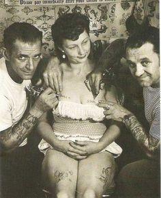 old school ink.. Vintage tattoos