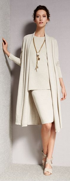 Eileen Fisher Wool Kimona Duster