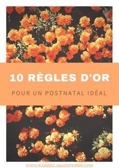 10 règles d'or pour un postnatal idéal PDF