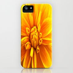 yellow Flower iPhone Case by Claudia Otte - $35.00