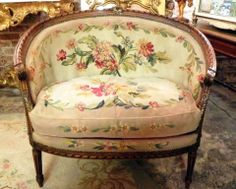 Lovely chair from Linen and Lace