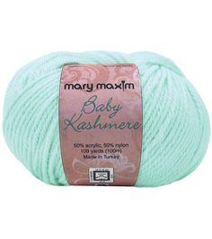 Mary Maxim Baby Kashmere #yarn