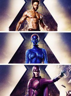 Days of Future Past: Wolverine/Mystique/Magneto