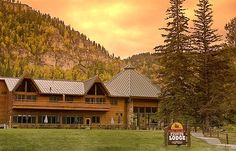 Spearfish Canyon Lodge in South Dakota. I have been there a couple of times for Prairie Winds, a writer's conference for high schoolers and teachers, and I just loved the place! Such an inspirational area.