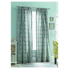 Walmart Ip Your Zone Ikat Polyester Curtain Panel 35989279actionproduct Interest