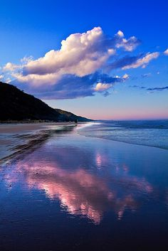 Blue waters of Queensland Australia