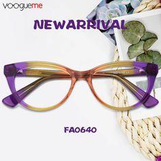 6ce0f2cbdf Mehitable Cat Eye Purple Eyeglasses Fashion Eye Glasses