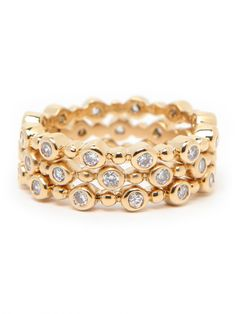 new on the site... our organic stack rings.  LOVE!